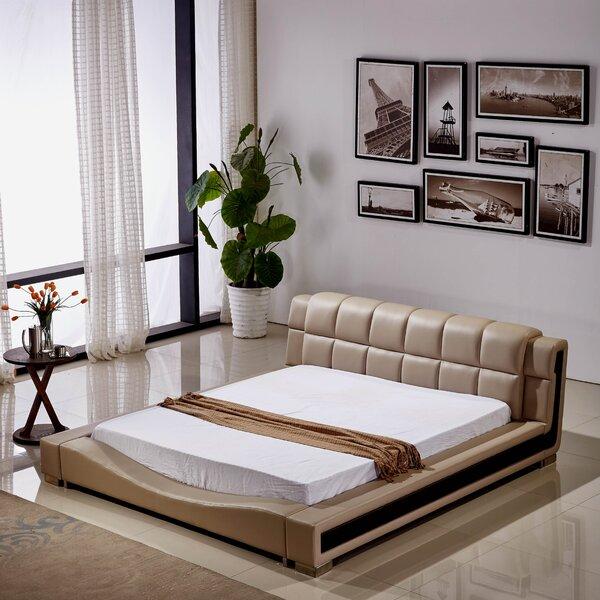 Pottorff Elegant Upholstered Platform Bed by Brayden Studio