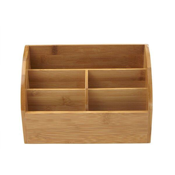 Bamboo Supplies Organizer by Mind Reader