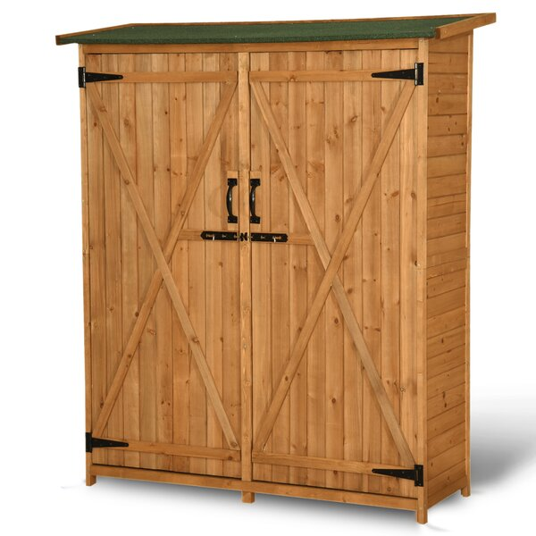 4.5 ft. W x 1.5 ft. D Solid Wood Lean-To Tool Shed by MCombo MCombo
