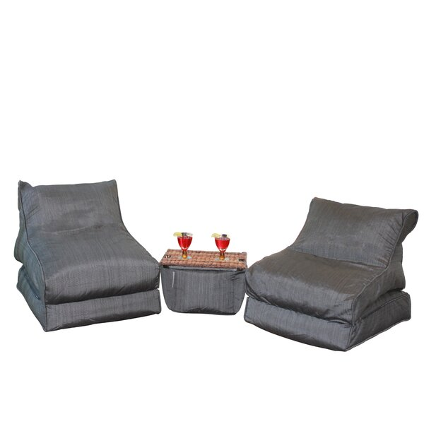 Standard Outdoor Friendly Bean Bag Set By Red Barrel Studio