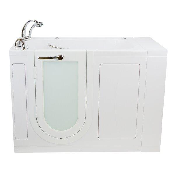 Malibu 29.5x52 Walk In Whirlpool Bathtub by Ella Walk In Baths