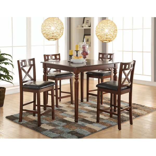 Albiero 5 Piece Dining Set by Bloomsbury Market