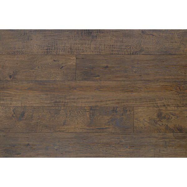 Reclaime 7.5 x 54.34 x 12 mm Oak Laminate Flooring in Coffee by Quick-Step