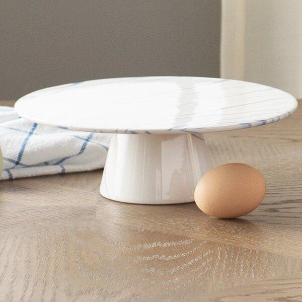 Marbled Ceramic Cake Stand by Birch Lane™