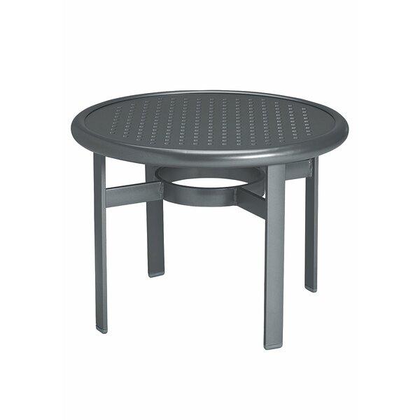 Boulevard Aluminum Coffee Table by Tropitone