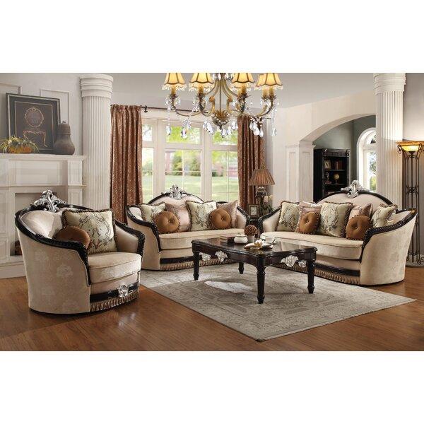 Mcclellan 3 Piece Configurable Living Room Set by Astoria Grand