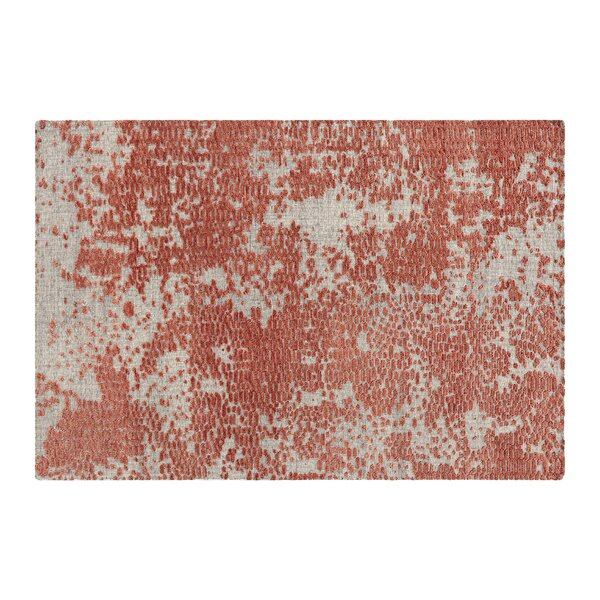 Japan Hand Knotted Wool Coral Area Rug by Gandia Blasco