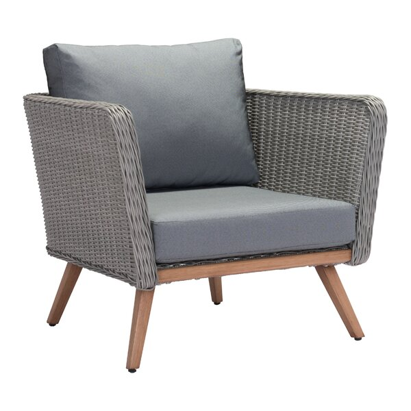 Selph Patio Chair with Cushions by Brayden Studio