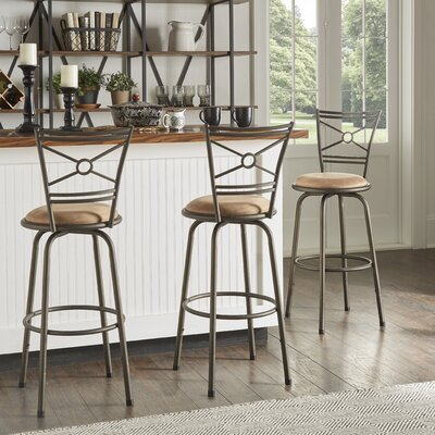 Adjustable Height Full Back Bar Stools You Ll Love In 2020