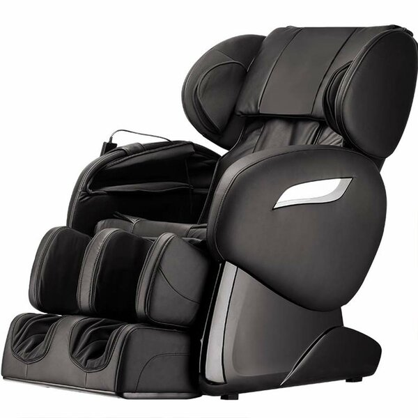 Power Reclining Adjustable Width Heated Full Body Massage Chair By Latitude Run
