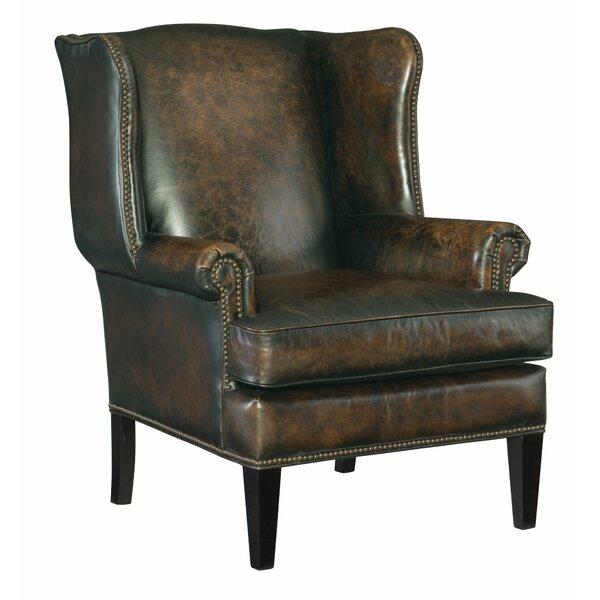 Heath Wingback Chair by Bernhardt