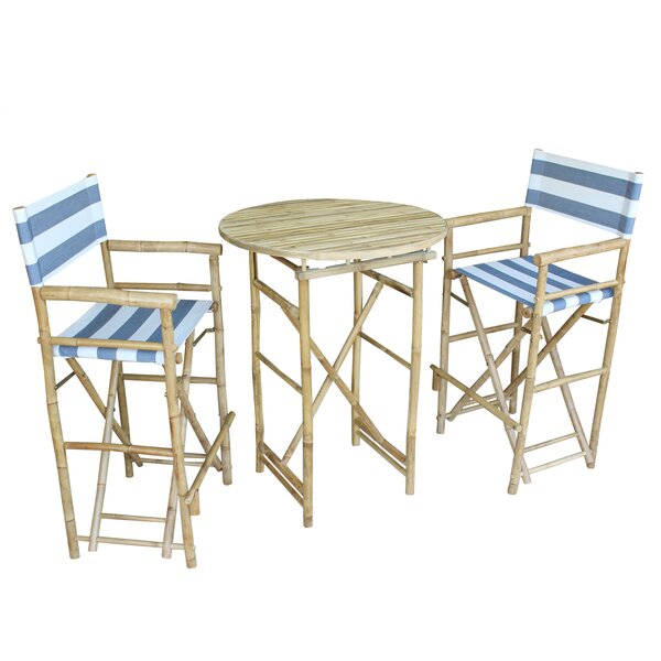 Waterford 3 Piece Bar Height Dining Set by Bay Isl