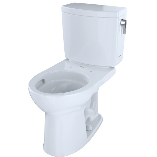 Drake® II 1 GPF Round Two-Piece Toilet by Toto