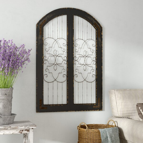 Traditional Gate Wall Décor by Laurel Foundry Modern Farmhouse