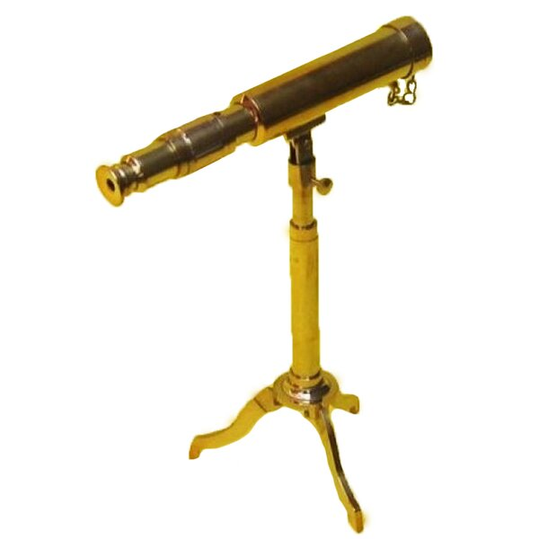 Reproduction Miniature Antique Replica Decorative Telescope by EC World Imports