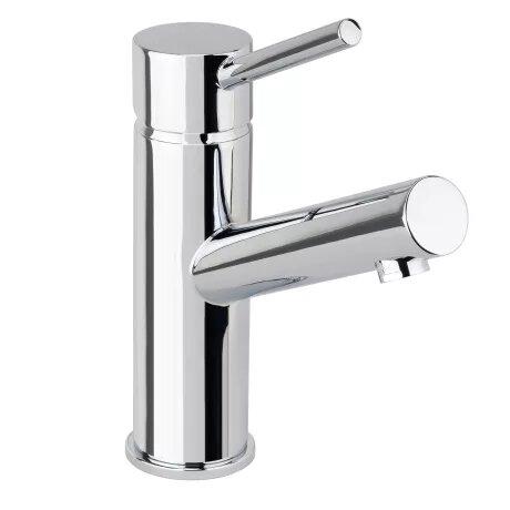 Mia Single Hole Bathroom Faucet with Drain Assembly
