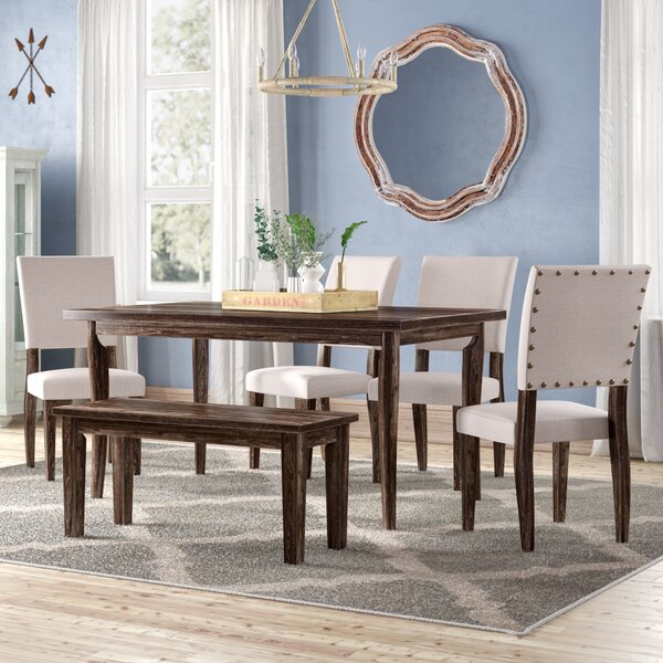 Kenna 6 Piece Dining Set by Ophelia & Co.