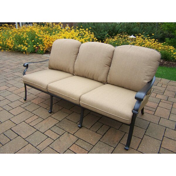 Bosch Patio Sofa with Cushions by Darby Home Co