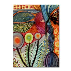 'Vivaces' by Sylvie Demers Painting Print on Wrapped Canvas by Trademark Fine Art