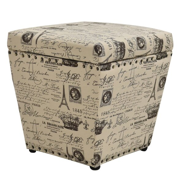 Cleo Storage Ottoman by Wildon Home®