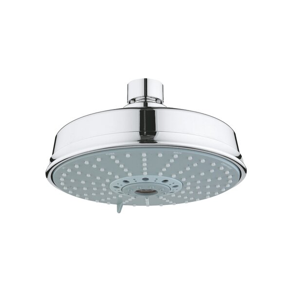 Rain Rustic Shower Head With DreamSpray By GROHE