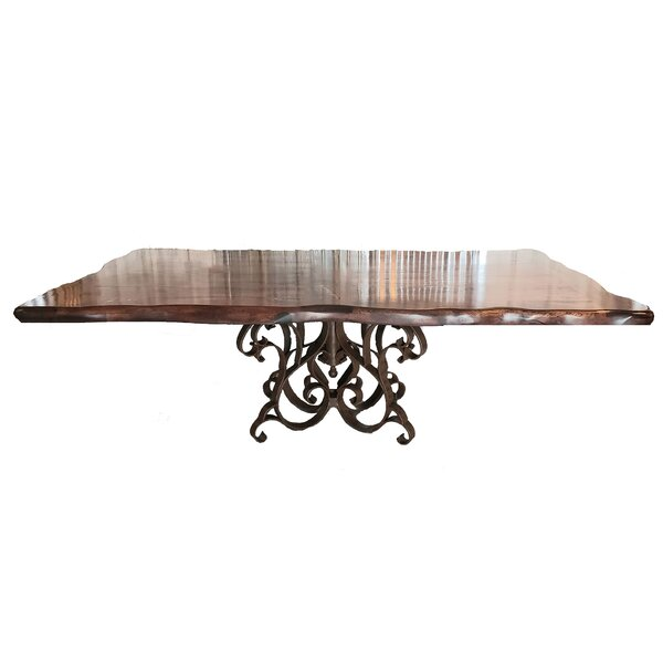 Haug Luxurious Solid Wood Dining Table by Fleur De Lis Living