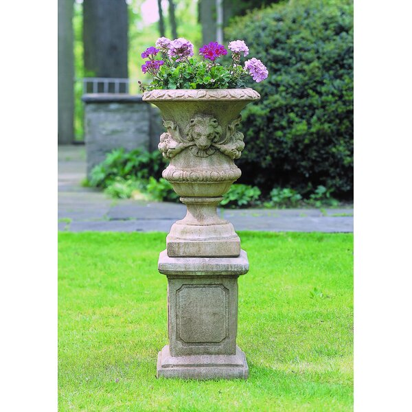 Lion Pedestal Plant Stand by Campania International