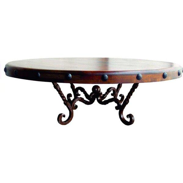 Huntsman Pedestal Coffee Table By Fleur De Lis Living