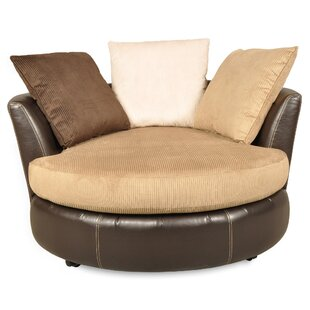 Randolph Swivel Barrel Chair