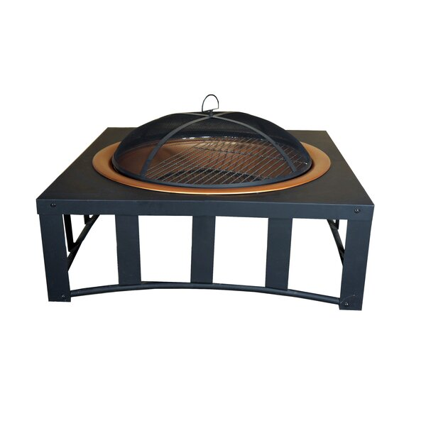 Steel Wood Burning Fire Pit by California Outdoor Designs