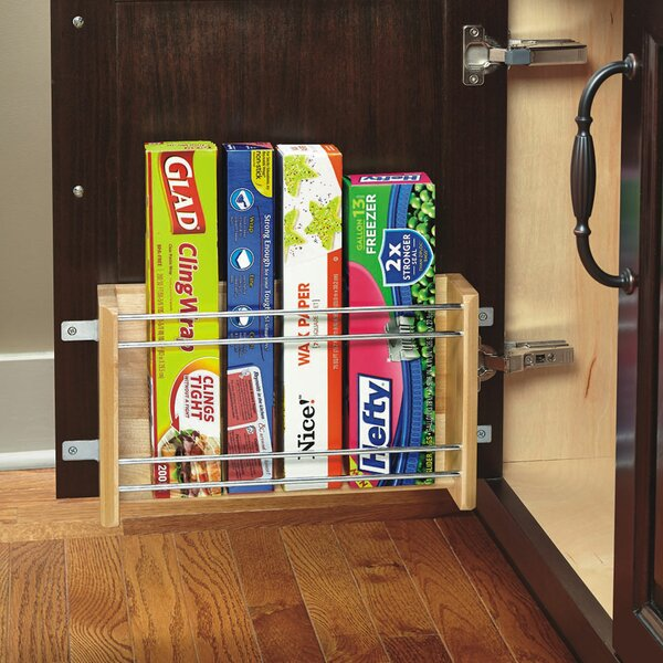 Small Door Mount Foil Rack by Rev-A-Shelf