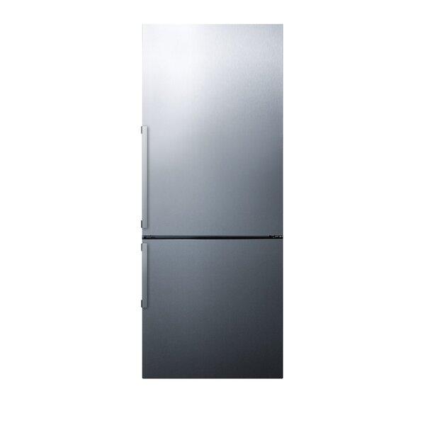 27 Counter Depth Bottom Freezer Energy Star 16.8 cu.ft Refrigerator