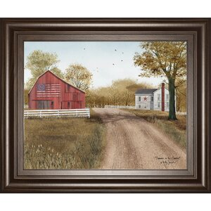 'Summer in the Country' Framed Photographic Print by Three Posts