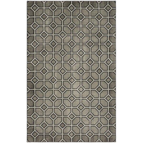Mccraney Trellis Graphite Gray Area Rug by Brayden Studio