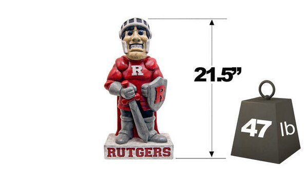 Rutgers Scarlet Knight College Mascot Statue by Henri Studio