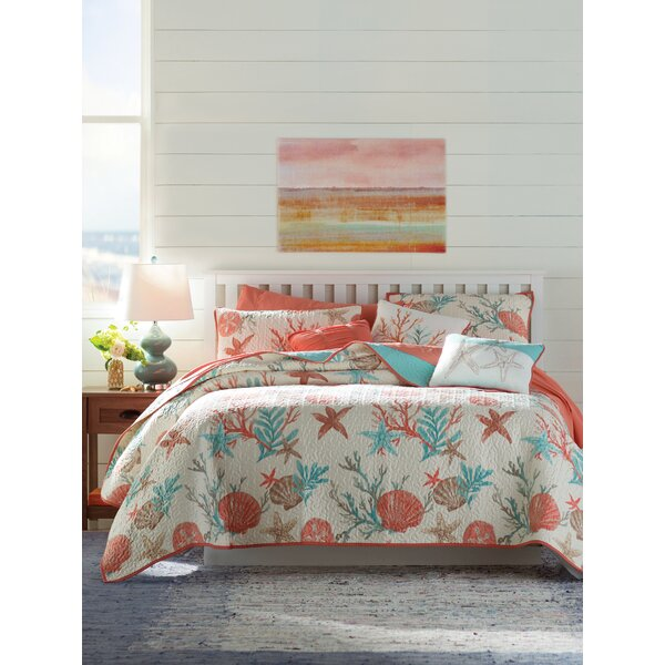 Keyport 6 Piece Coverlet Set by Beachcrest Home