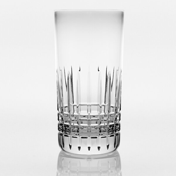 Keim 11 oz. Crystal Highball Glass (Set of 4) by Darby Home Co