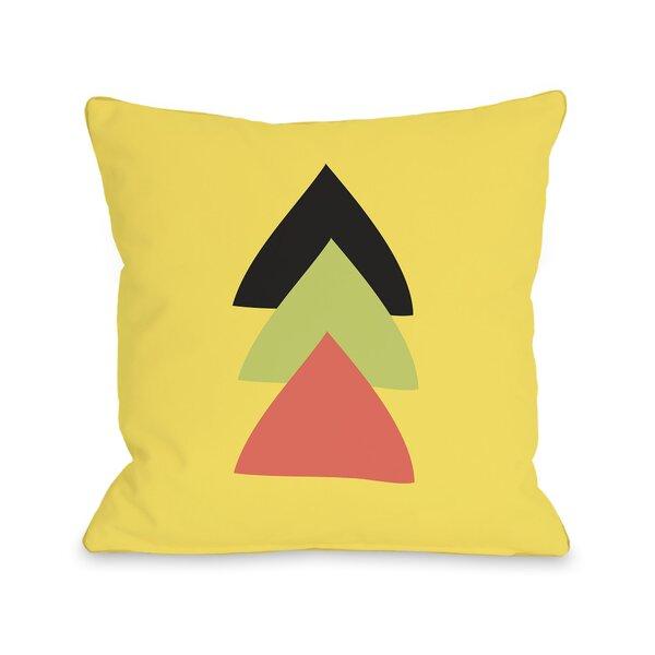 Natasha Aztec Vertical Triangle Throw Pillow by One Bella Casa