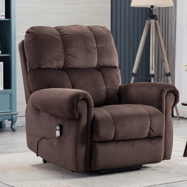 Amierah Power Lift Assist Recliner with Massage W003495328