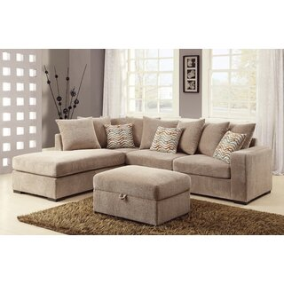 Albin Right Hand Facing Sectional by Loon Peak SKU:AE283549 Check Price