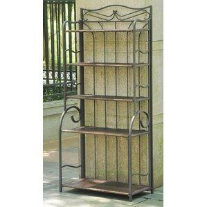 Meetinghouse Étagère Baker's Rack by Three Posts