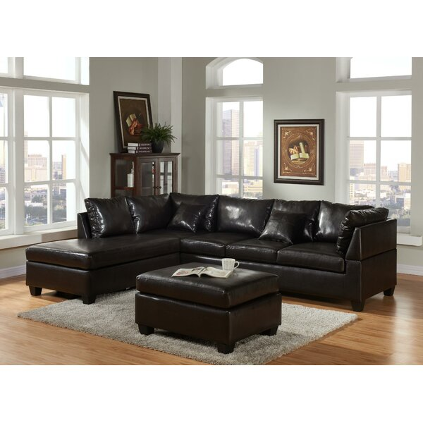 Nataniel Left Hand Facing Sectional With Ottoman By Latitude Run