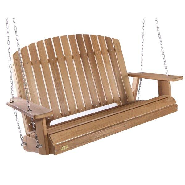 Ardoin Pergola Porch Swing by Union Rustic Union Rustic