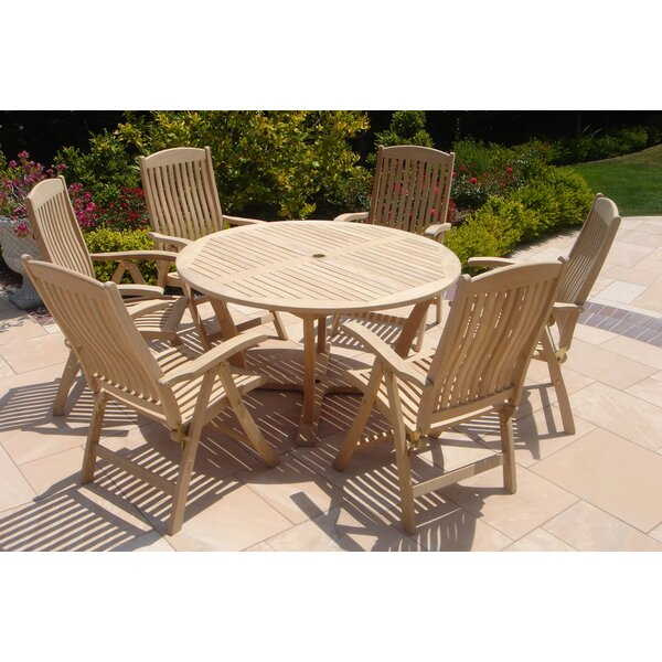 7 Piece Dining Set by Royal Teak by Lanza Products