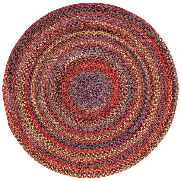 Sahale Red Variegated Area Rug by Loon Peak