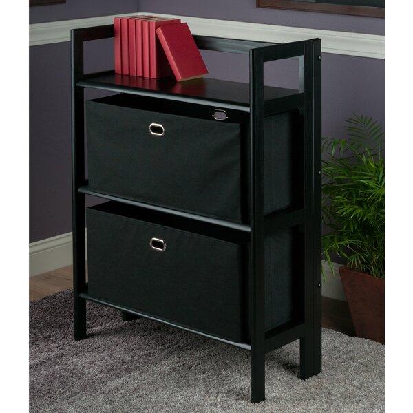 Tinoco Folding Standard Bookcase by Red Barrel Studio