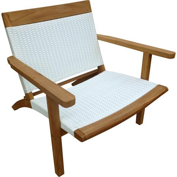 Siri Teak Patio Chair by Highland Dunes Highland Dunes
