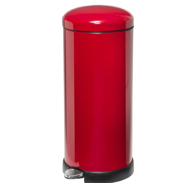 Red Trash Can You Ll Love In 2019 Wayfair