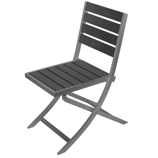 Mailelani Folding Patio Dining Chair by Ebern Designs