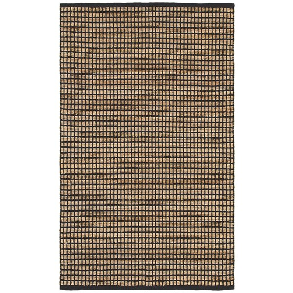 Natural Fiber Black Area Rug by LR Resources